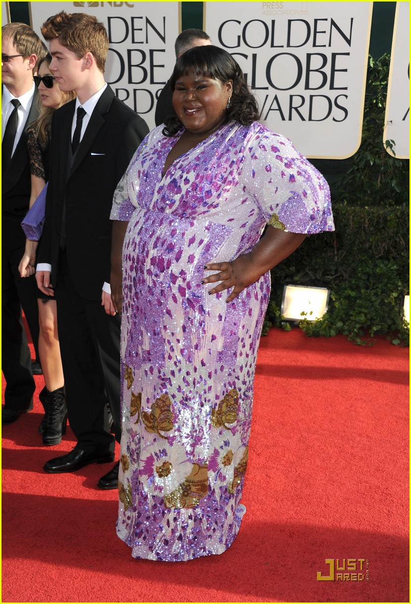 gabourey sidibe golden globes 2011 022511696