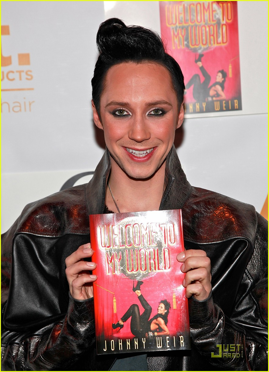 johnny weir welcome to my world party 01