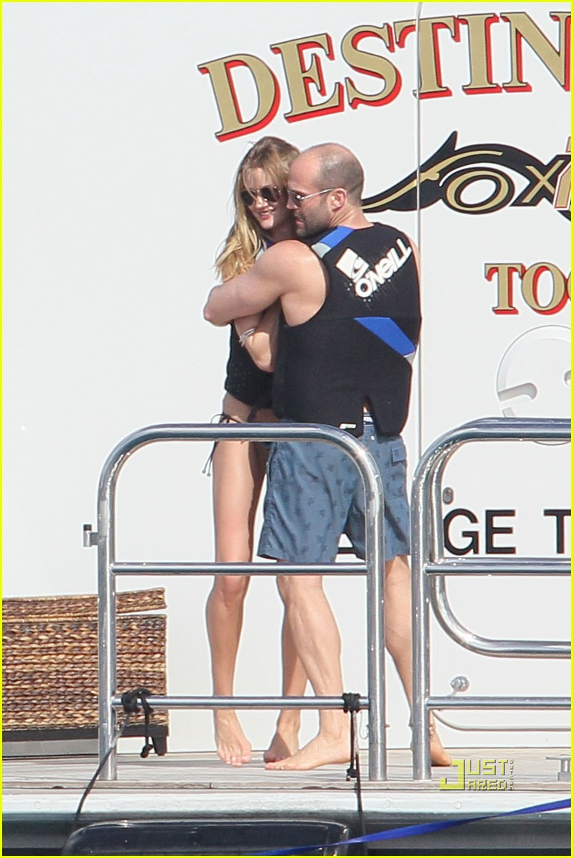 rosie huntington whiteley jason statham jet ski 012507867