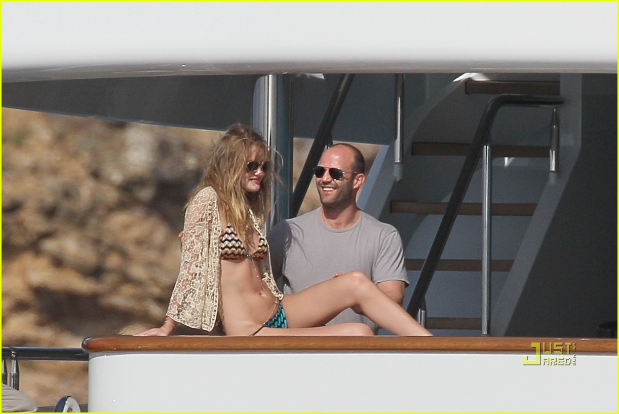rosie huntington whiteley jason statham jet ski 08