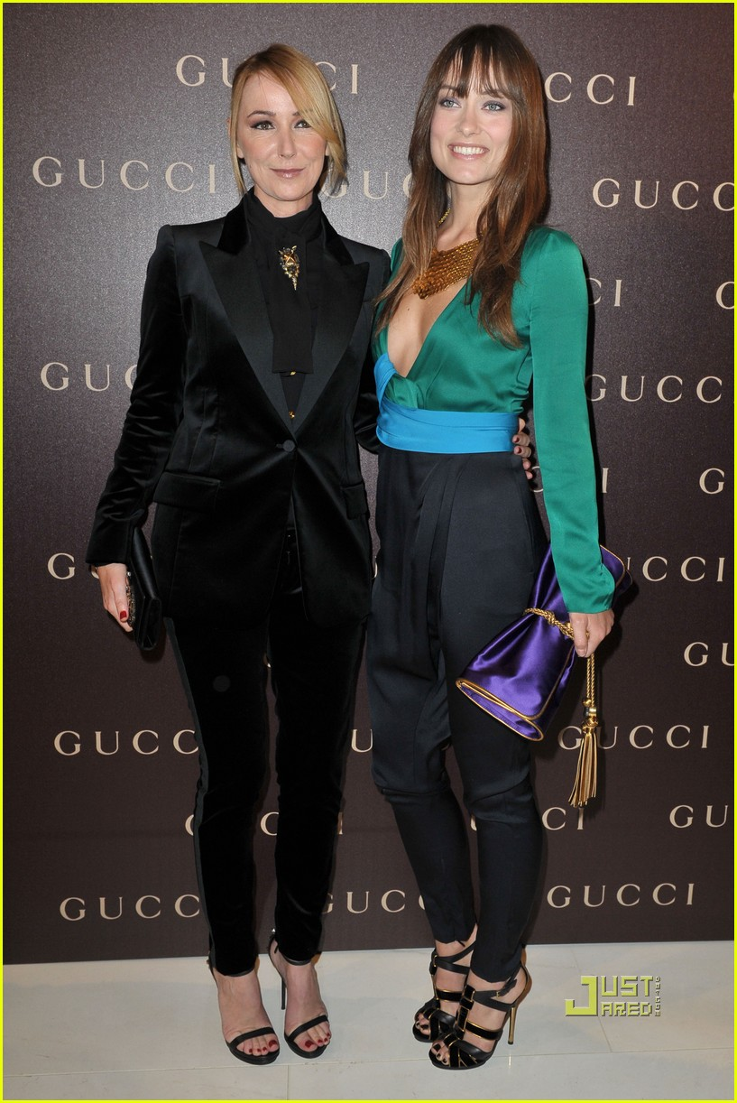 olivia wilde gucci dinner 042514414