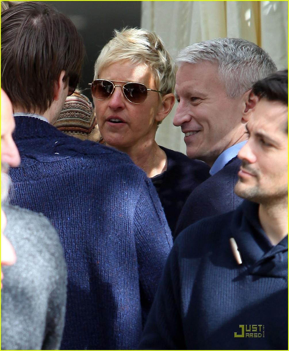 Portia De Rossi Pregnancy: Jessica Alba & Ellen DeGeneres: Pre-Oscar Party In Beverly
