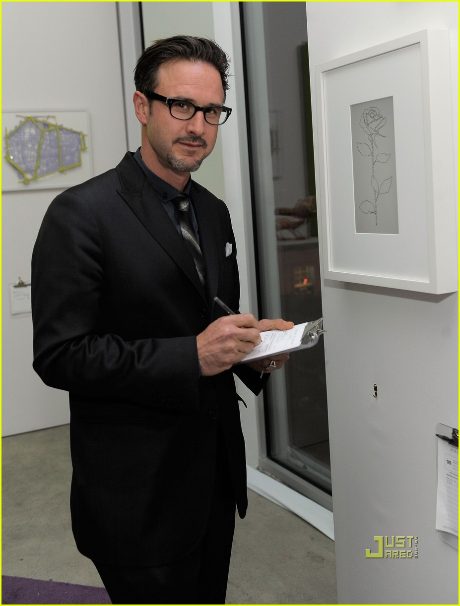 david arquette art auction 02