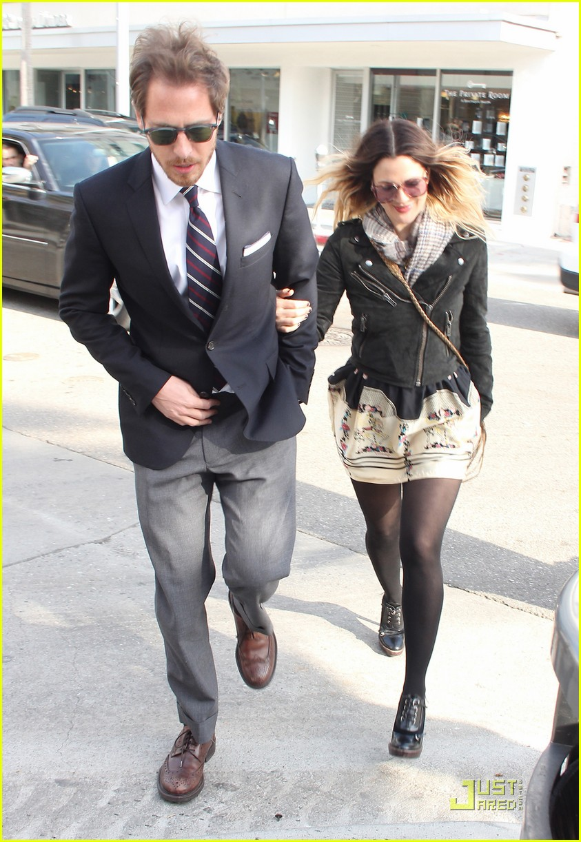 drew barrymore will kopelman e baldi lunch 01