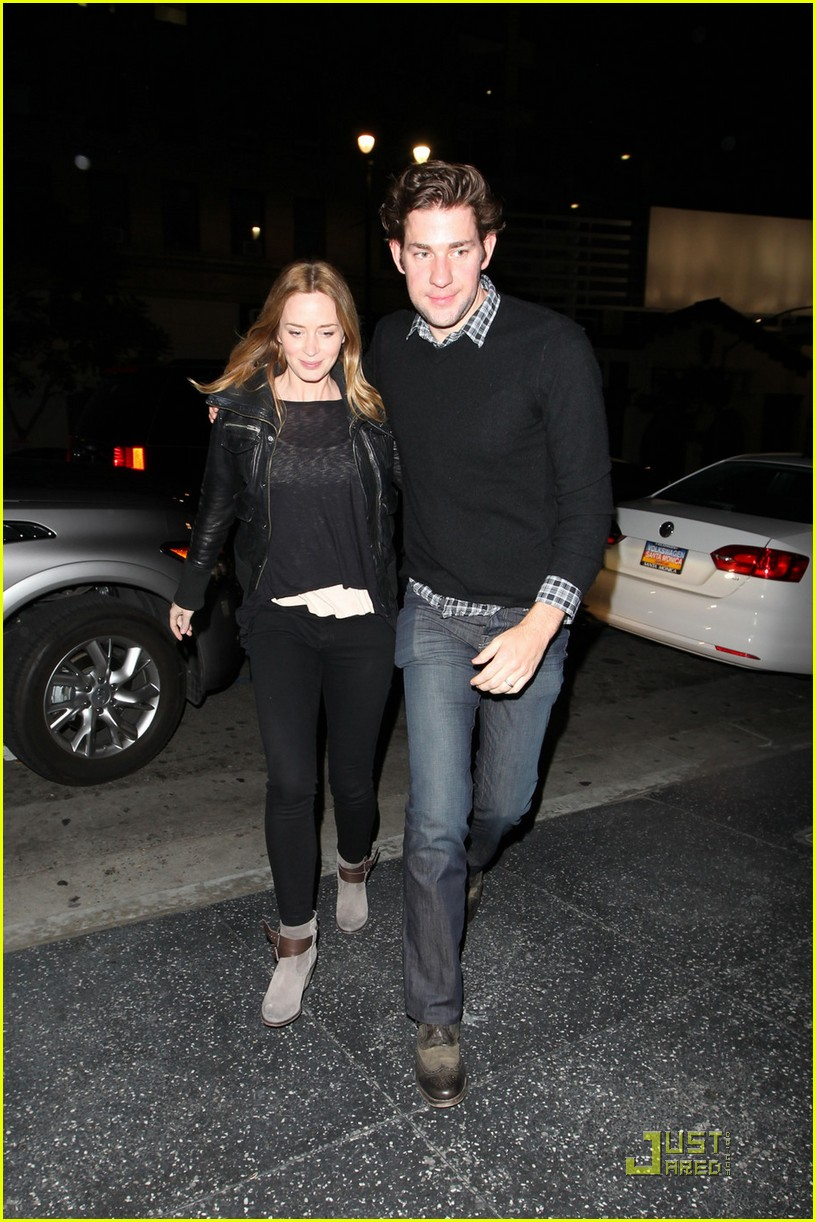 emily blunt john krasinski double date damon 01