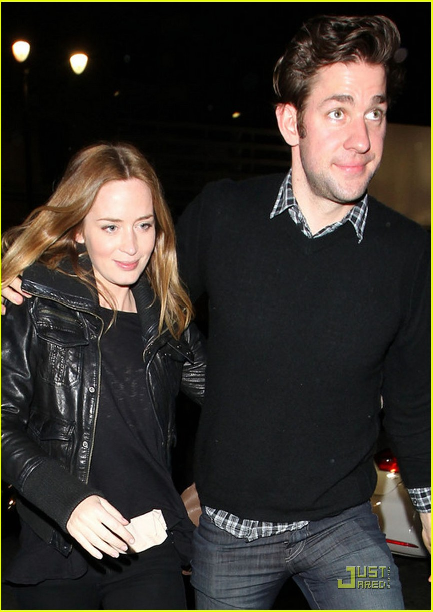 emily blunt john krasinski double date damon 09
