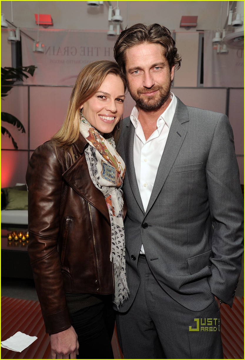 gerard butler hilary swank lg independent spirit awards voter party 02