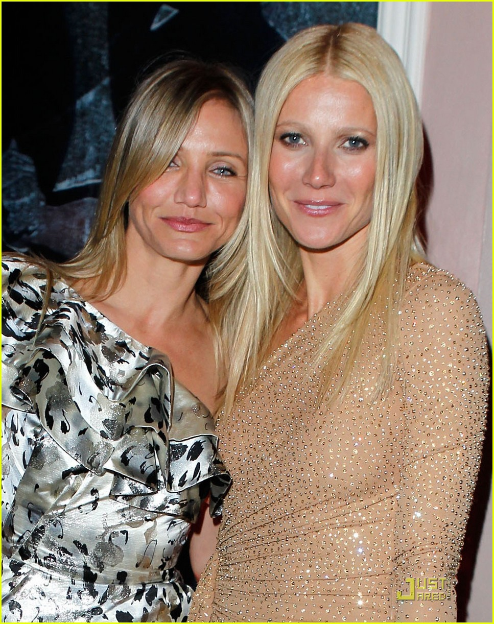 cameron diaz gwyneth paltrow vanity fair oscar party 06