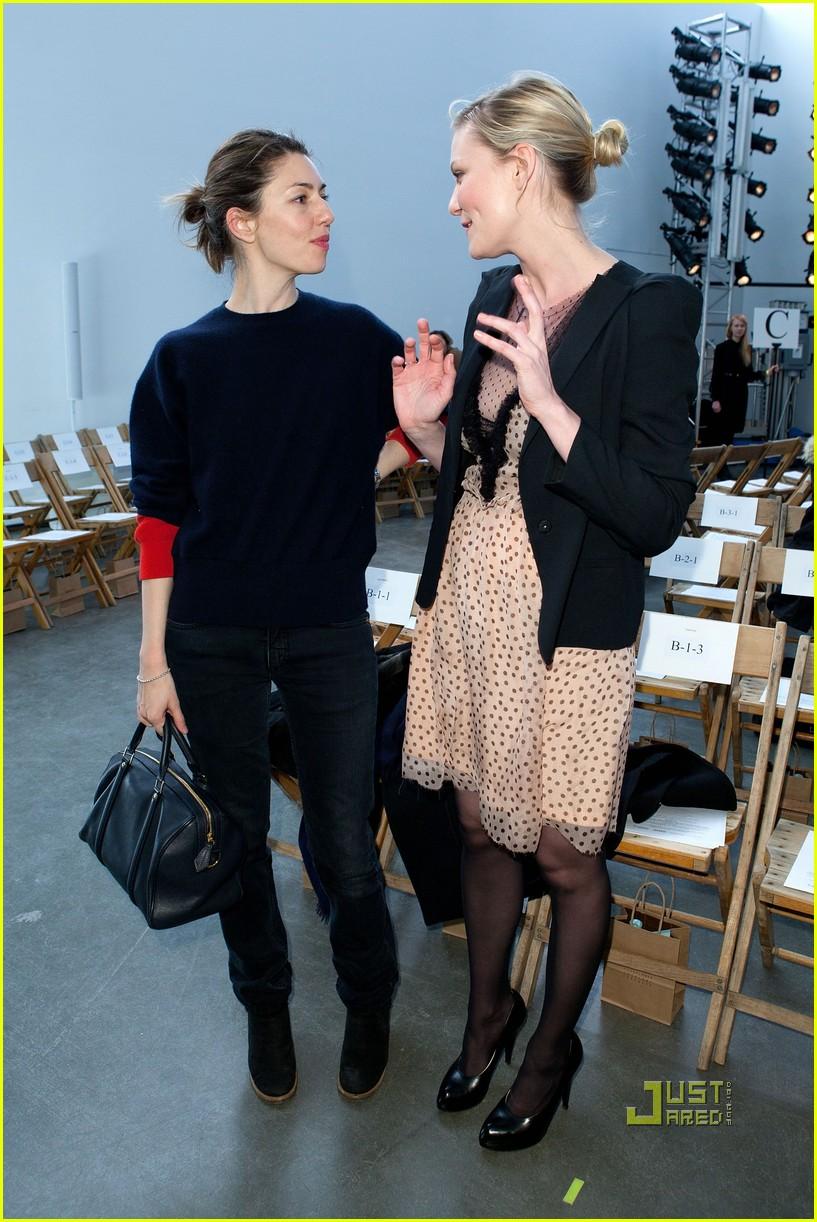 kirsten dunst sofia coppola rodarte fashion show 052520303