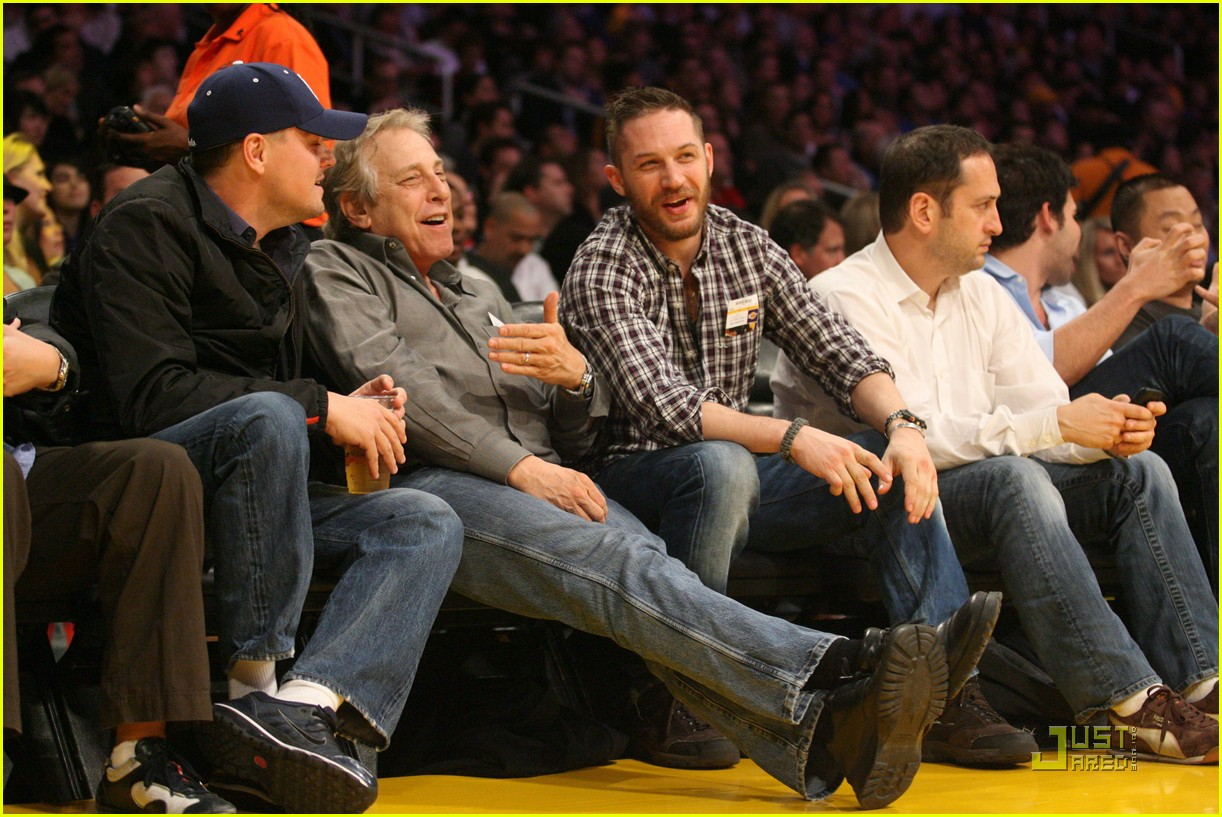 tom hardy lakers game 012516750