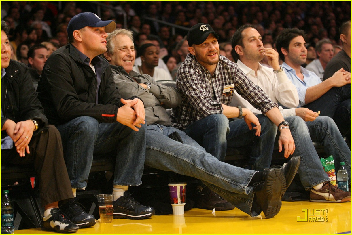 tom hardy lakers game 03