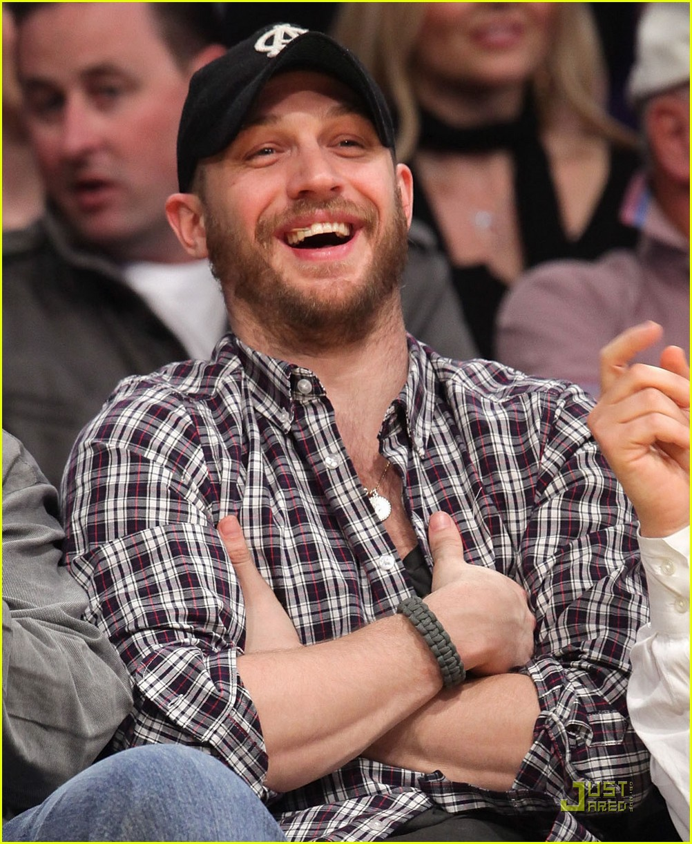 tom hardy lakers game 042516753