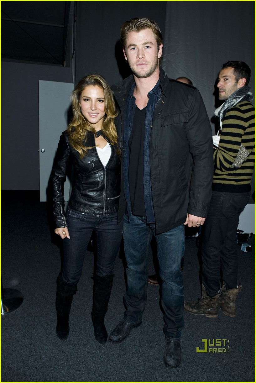 elsa pataky chris hemsworth jared leto gstar show 09