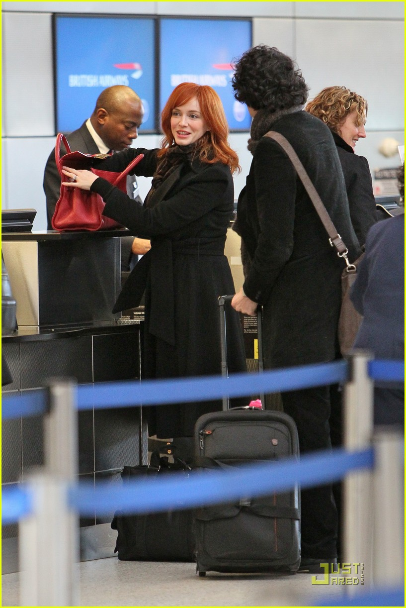 christina hendricks four eyed flight 06