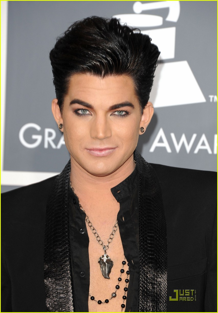 adam lambert grammys 2011 04
