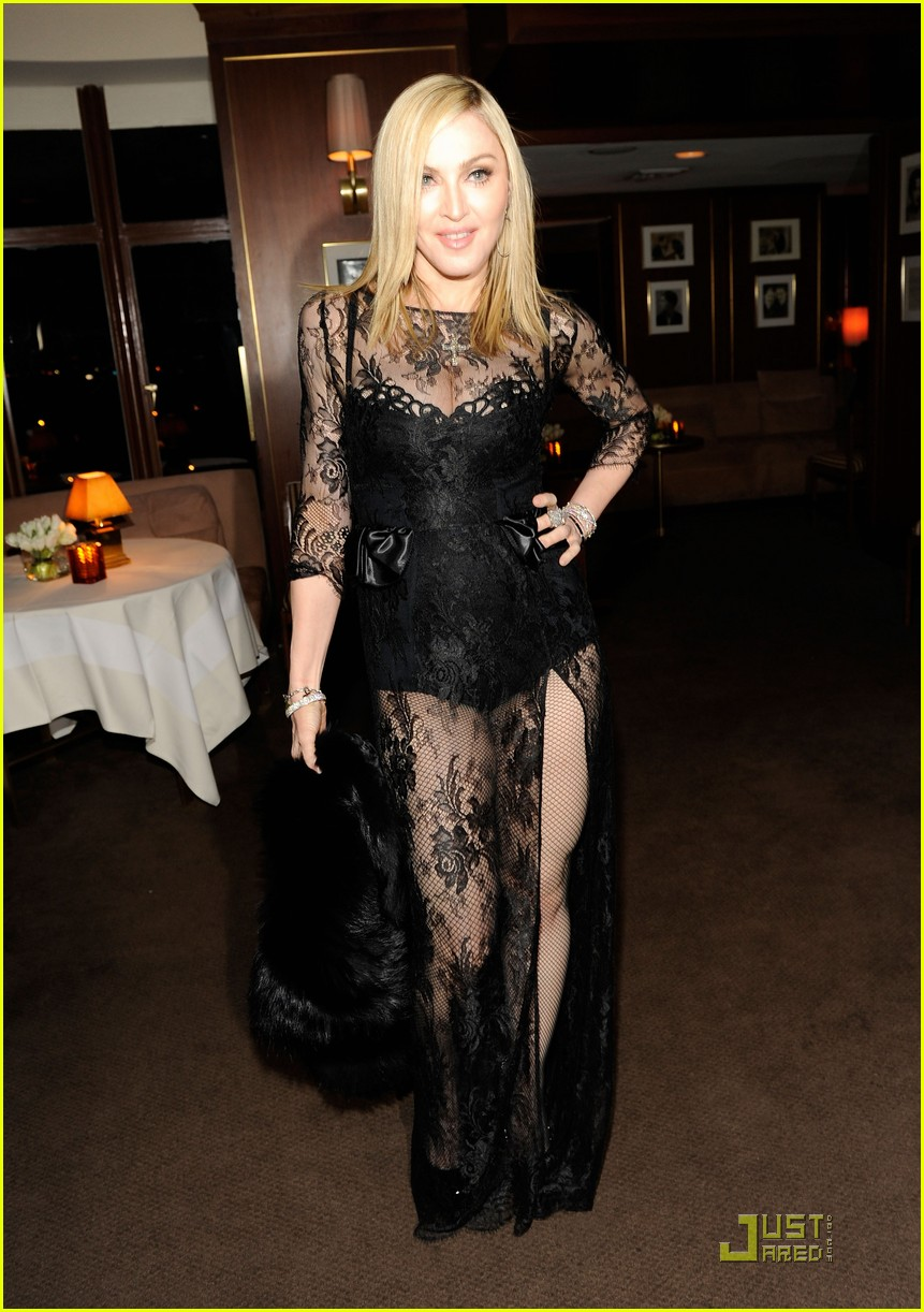 madonna lourdes leon vanity fair oscar party 04