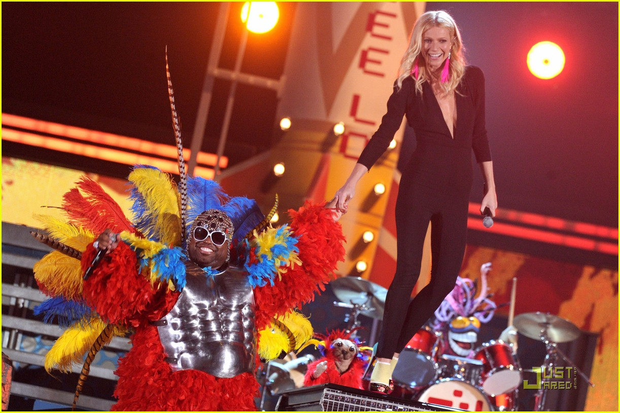 gwyneth paltrow cee lo green grammys 07