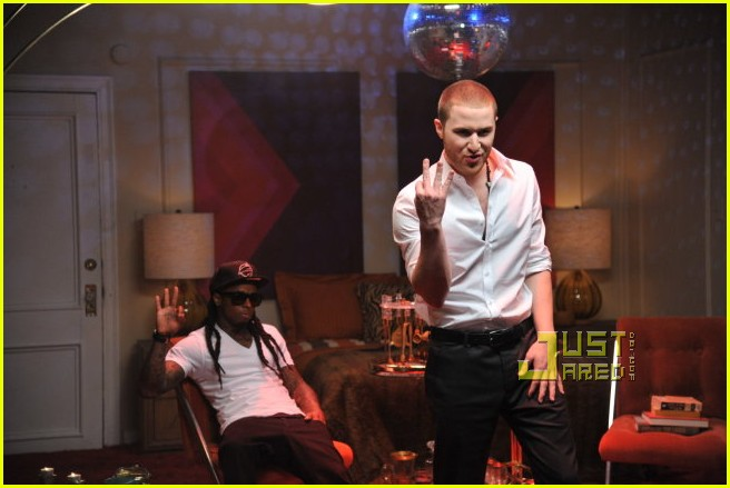 Mike Posner Bow Chicka Shoot With Lil Wayne Photo 2516539 Lil