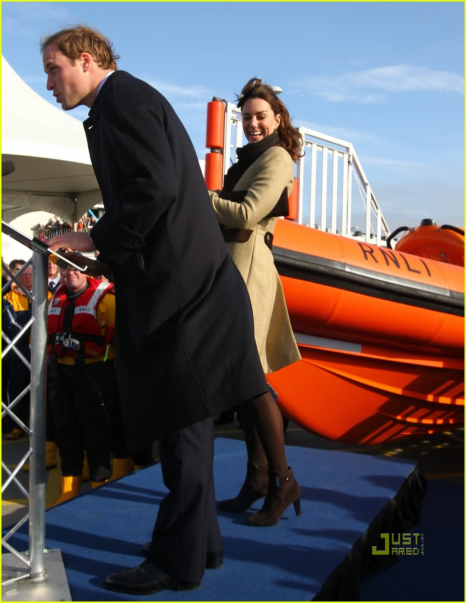 prince william kate middleton lifeboat 232522581