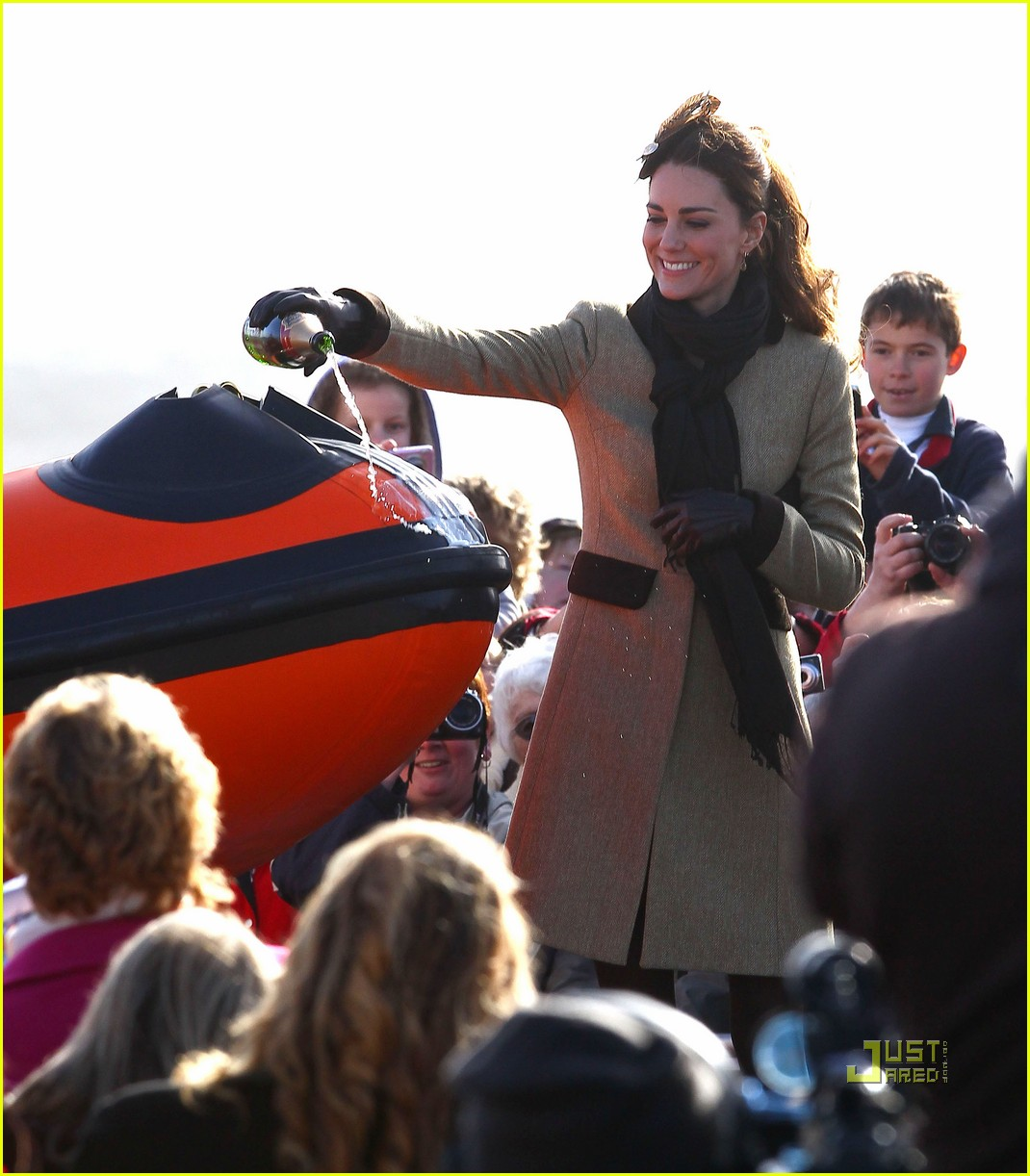 prince william kate middleton lifeboat 252522583