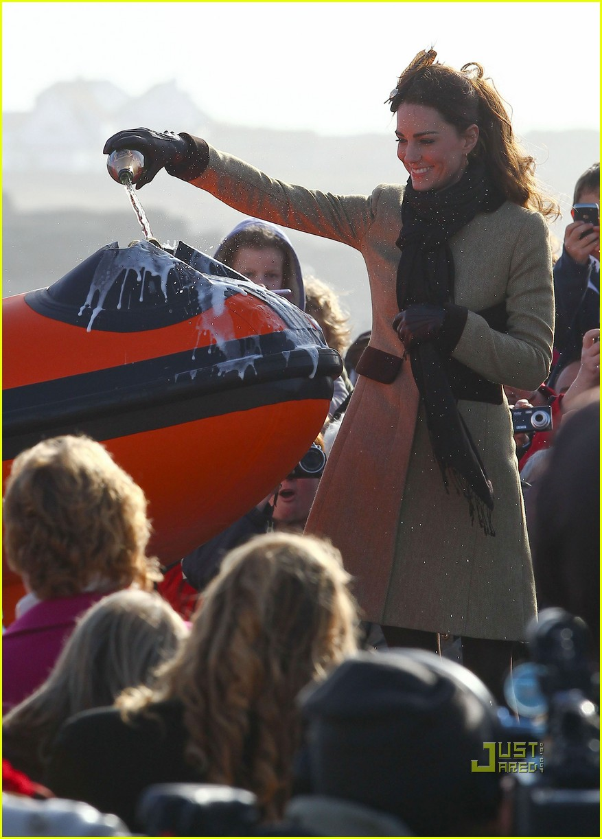 prince william kate middleton lifeboat 312522589