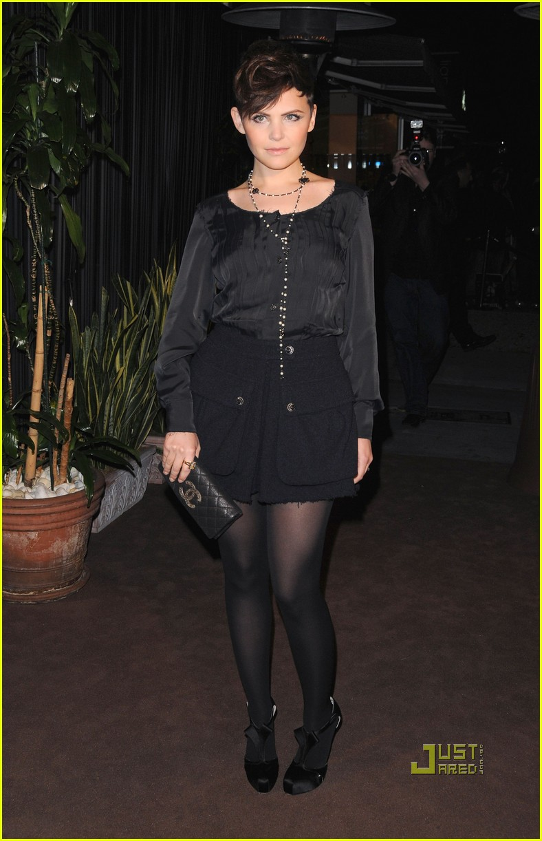 rashida jones ginnifer goodwin chanel charles finch dinner 072523497