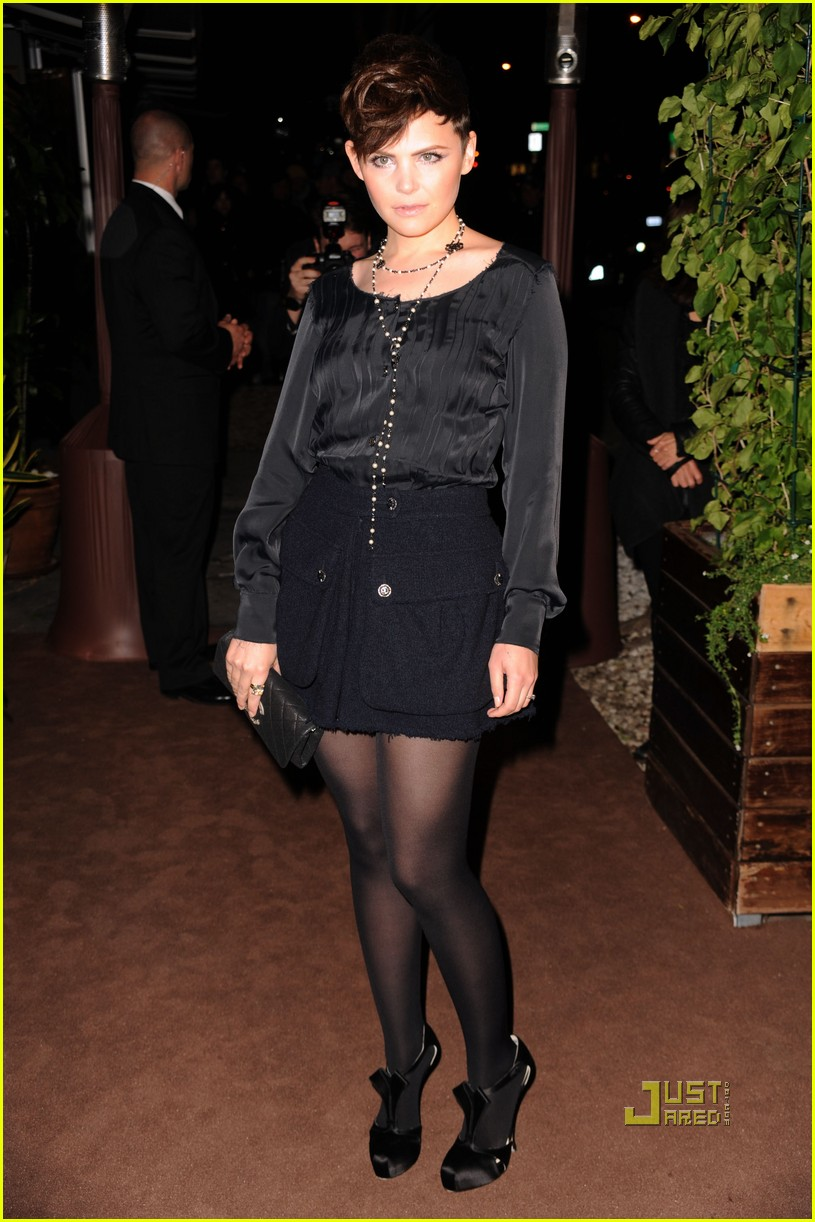 rashida jones ginnifer goodwin chanel charles finch dinner 102523500