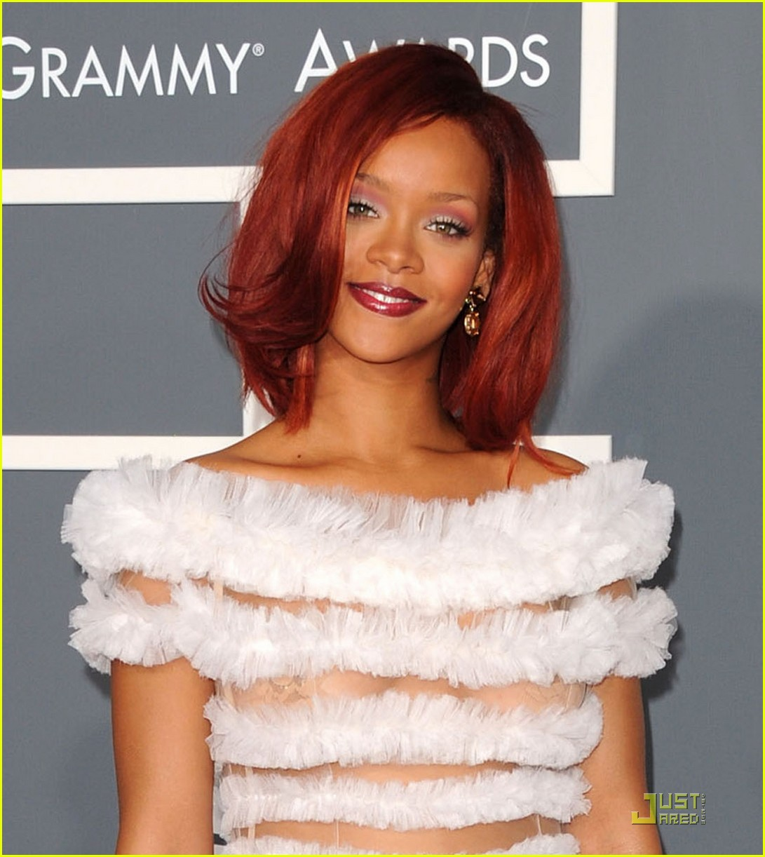 Rihanna Grammys 2011 Let's Not Get Carried Away