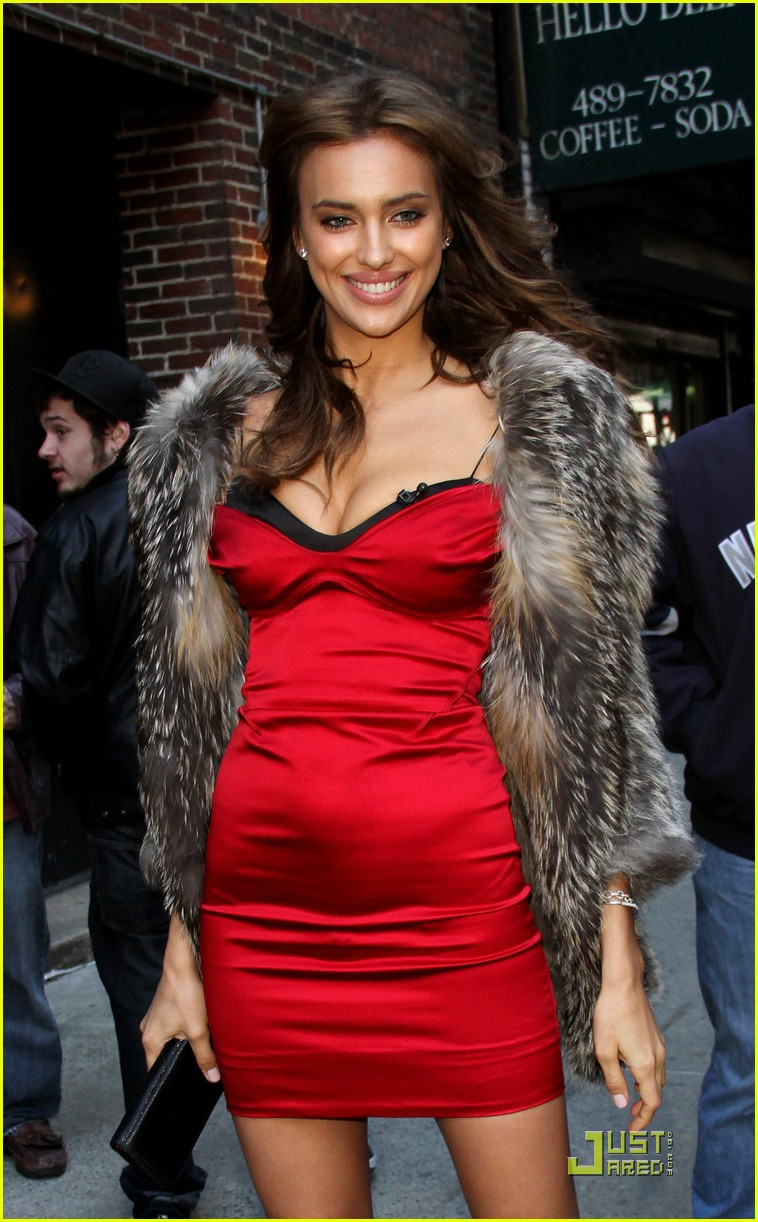 irina shayk visits the late show 022519950