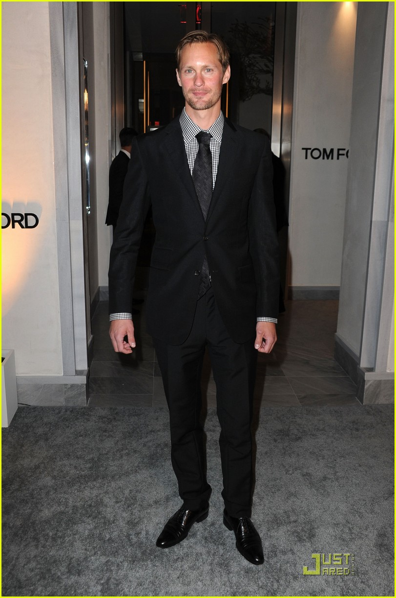 alexander skarsgard tom ford flagship opening 02