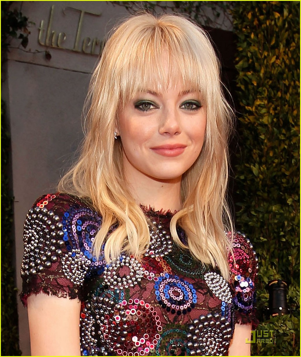 emma stone oscars vanity fair party 02
