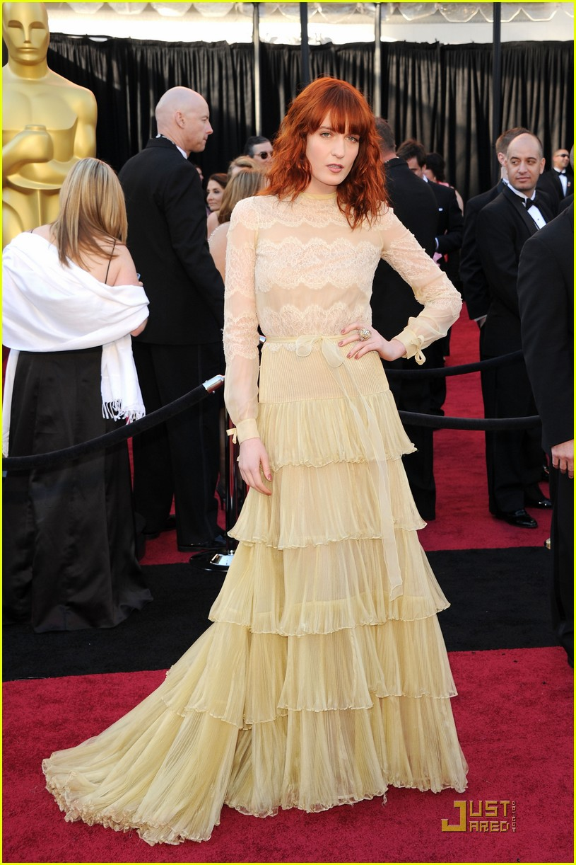 florence welch oscars 2011 012523559