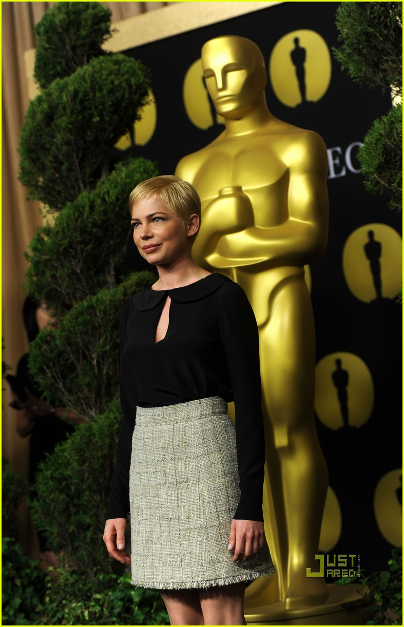 michelle williams oscar nomination luncheon 08