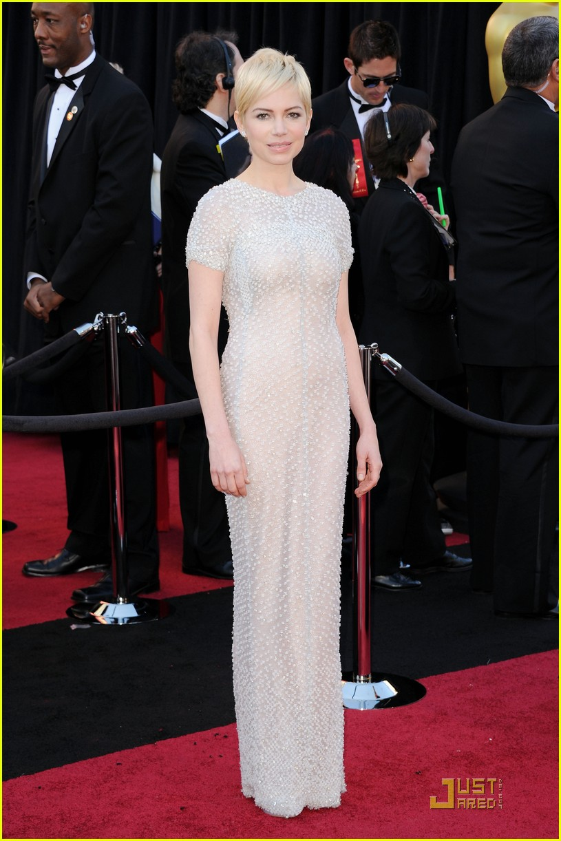 michelle williams oscars 01