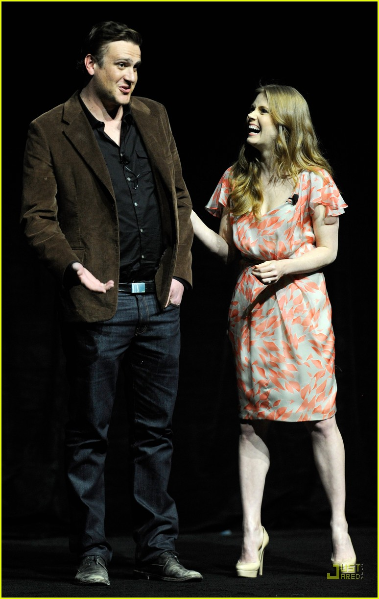 amy adams jason segel muppets cinemacon 05