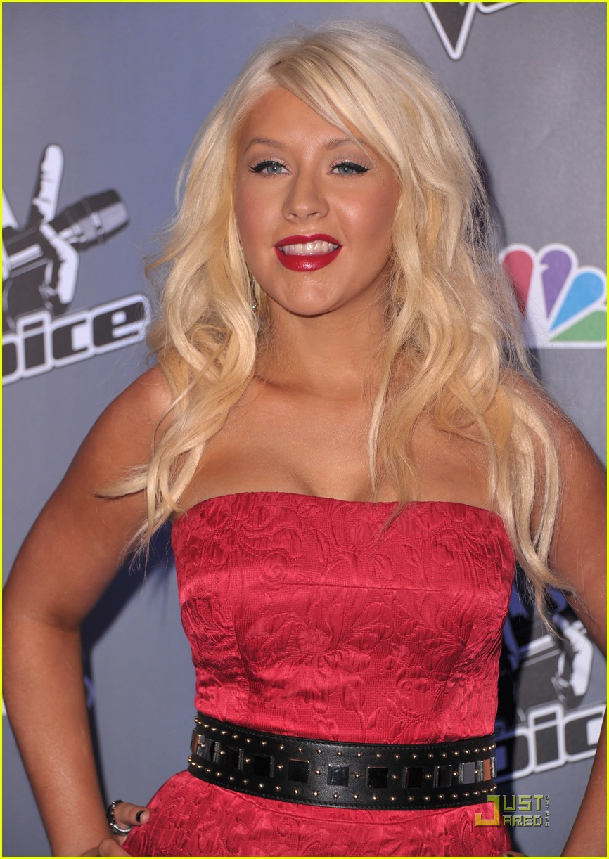 christina aguilera voice press conference 122527909