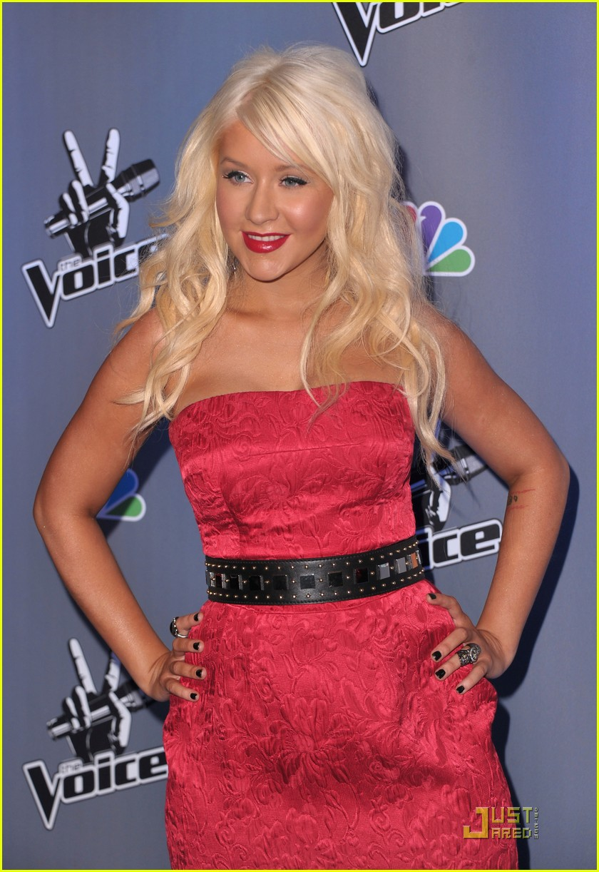 christina aguilera voice press conference 172527914