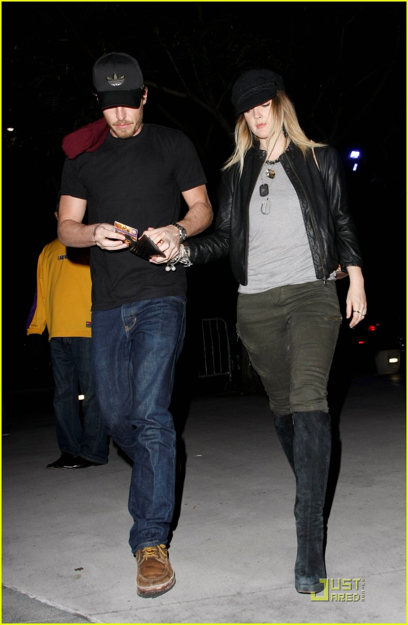drew barrymore will kopelman lakers 02