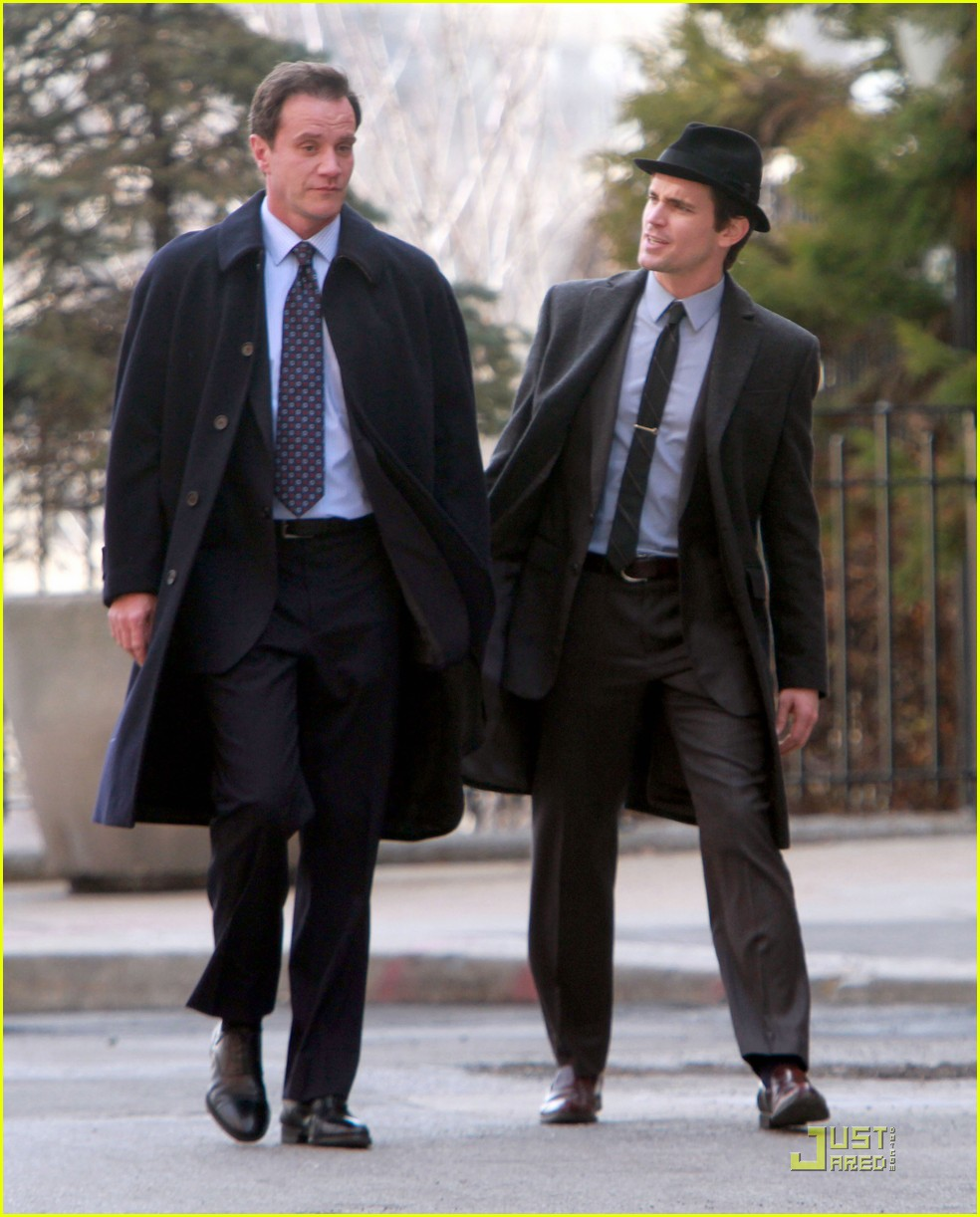matt bomer white collar filming 01