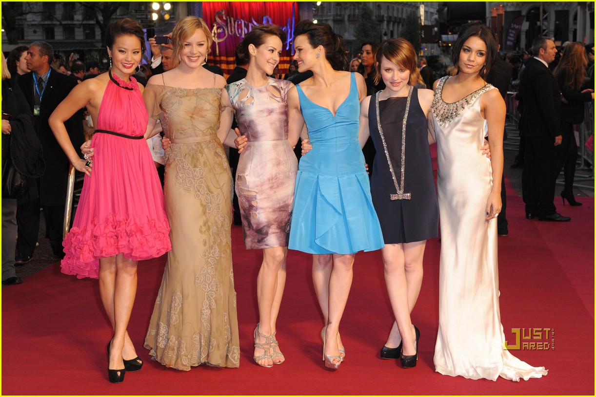 abbie cornish jamie chung emily browning sucker punch uk premiere london 012531494