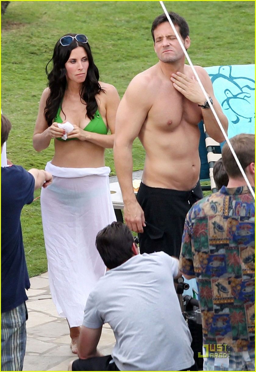 courteney cox josh hopkins cougar town twosome 082524659