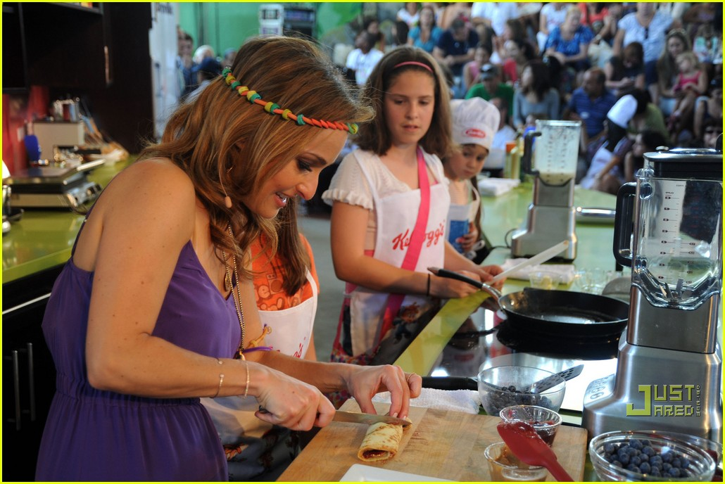 Giada De Laurentiis: No Pasta? Politics Please!