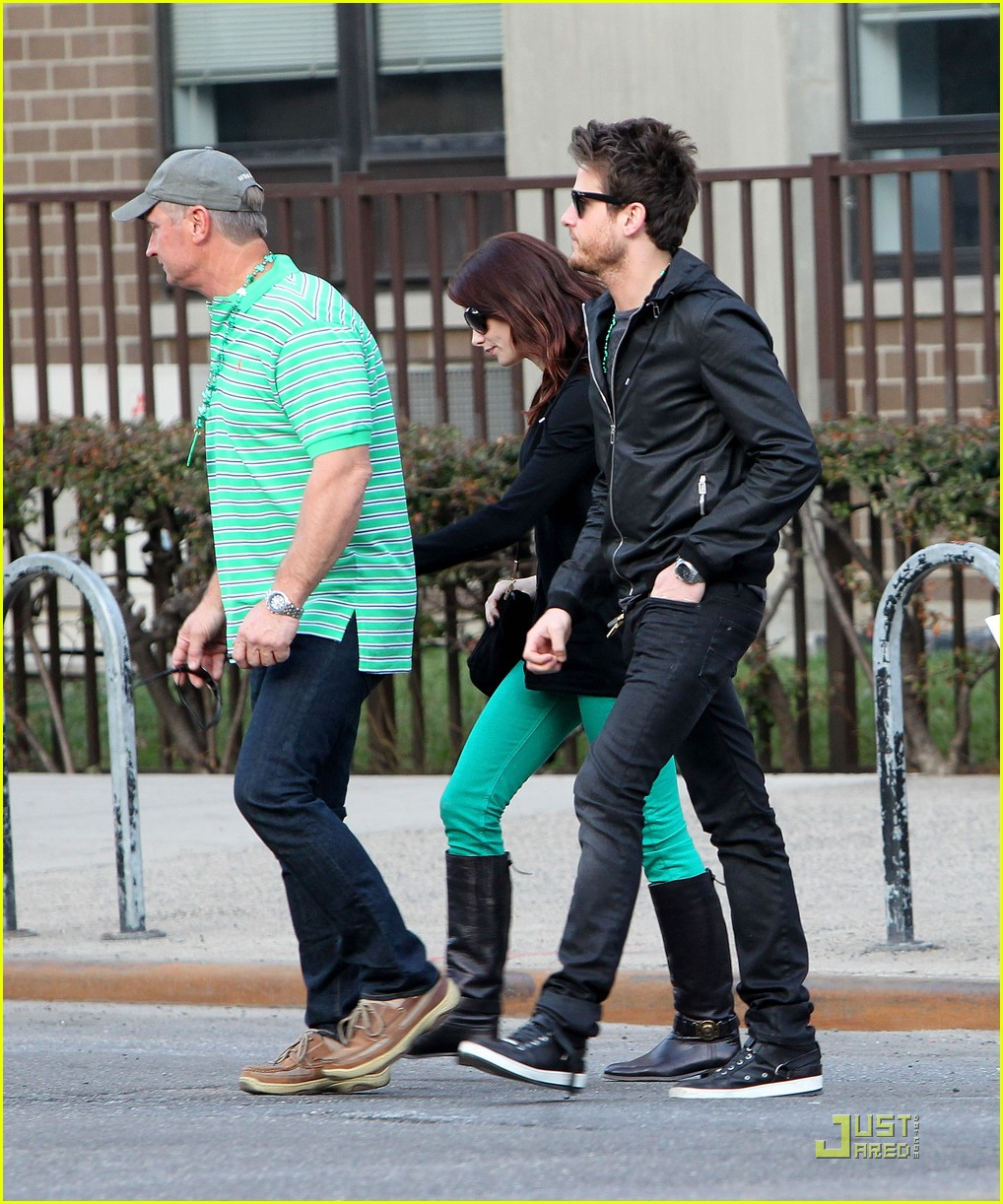 ashley greene st patricks day with jared followill 052528405