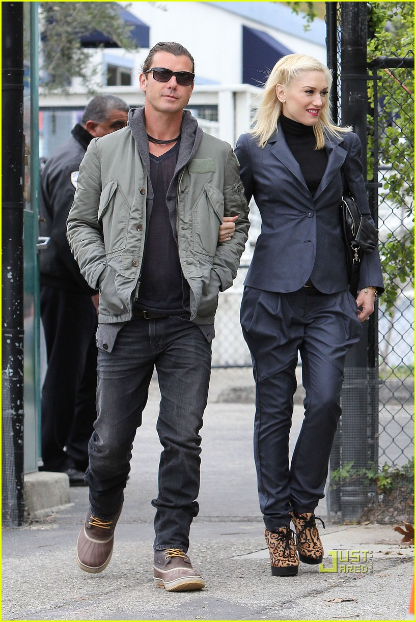 gwen stefani gavin rossdale kingston school 06