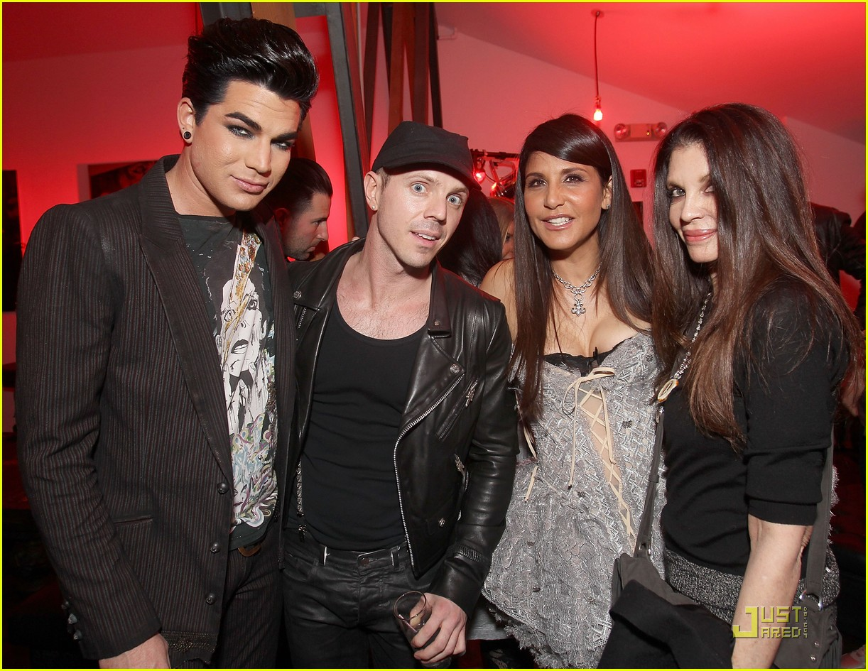 adam lambert jake shears dinner 04