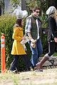 lea michele yellow jacket 01