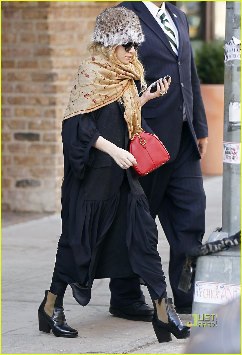 ashley olsen red purse shawl 062527890