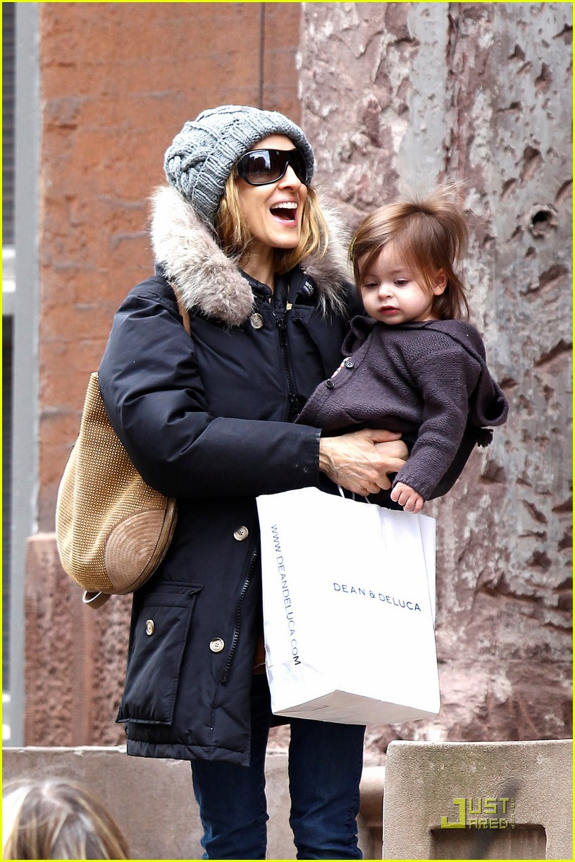 sarah jessica parker twins grocery shopping 012529664
