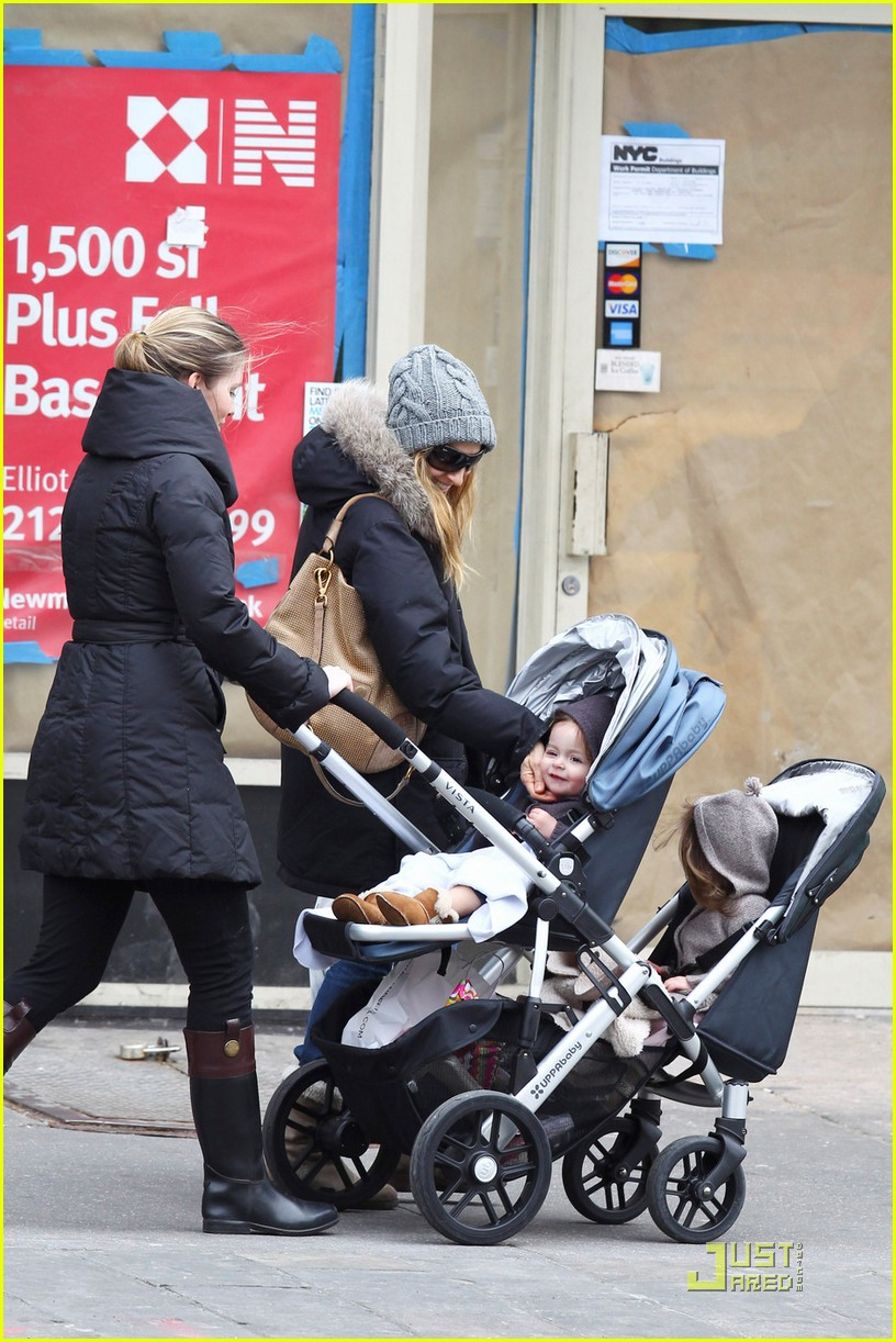 sarah jessica parker twins grocery shopping 022529665