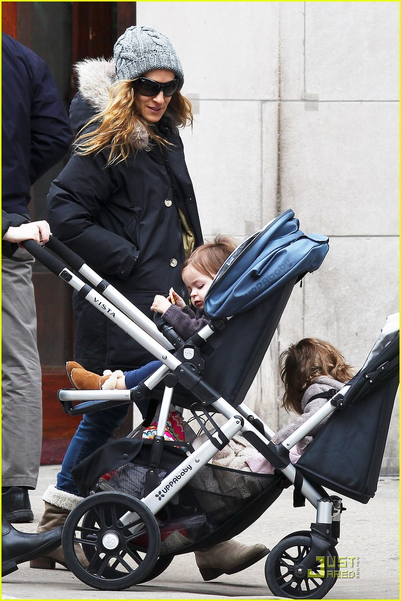 sarah jessica parker twins grocery shopping 042529667